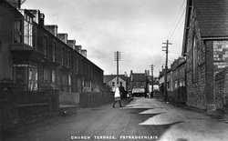 Church Terrace Ystradgynlais